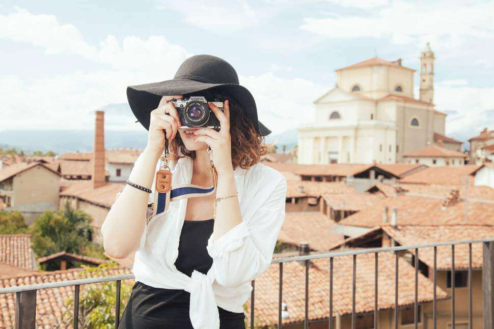 旅行カメラ