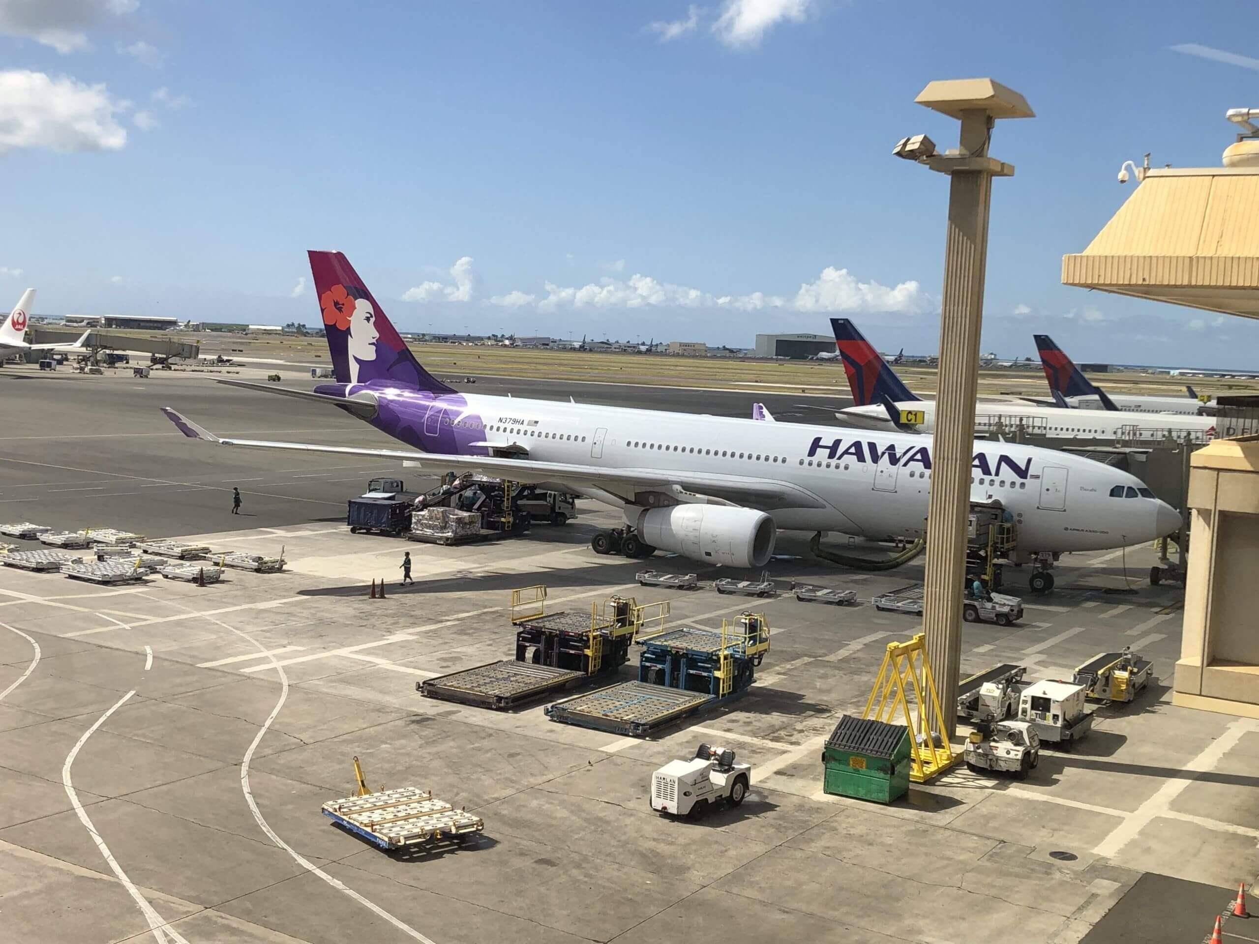ハワイアン航空_飛行機