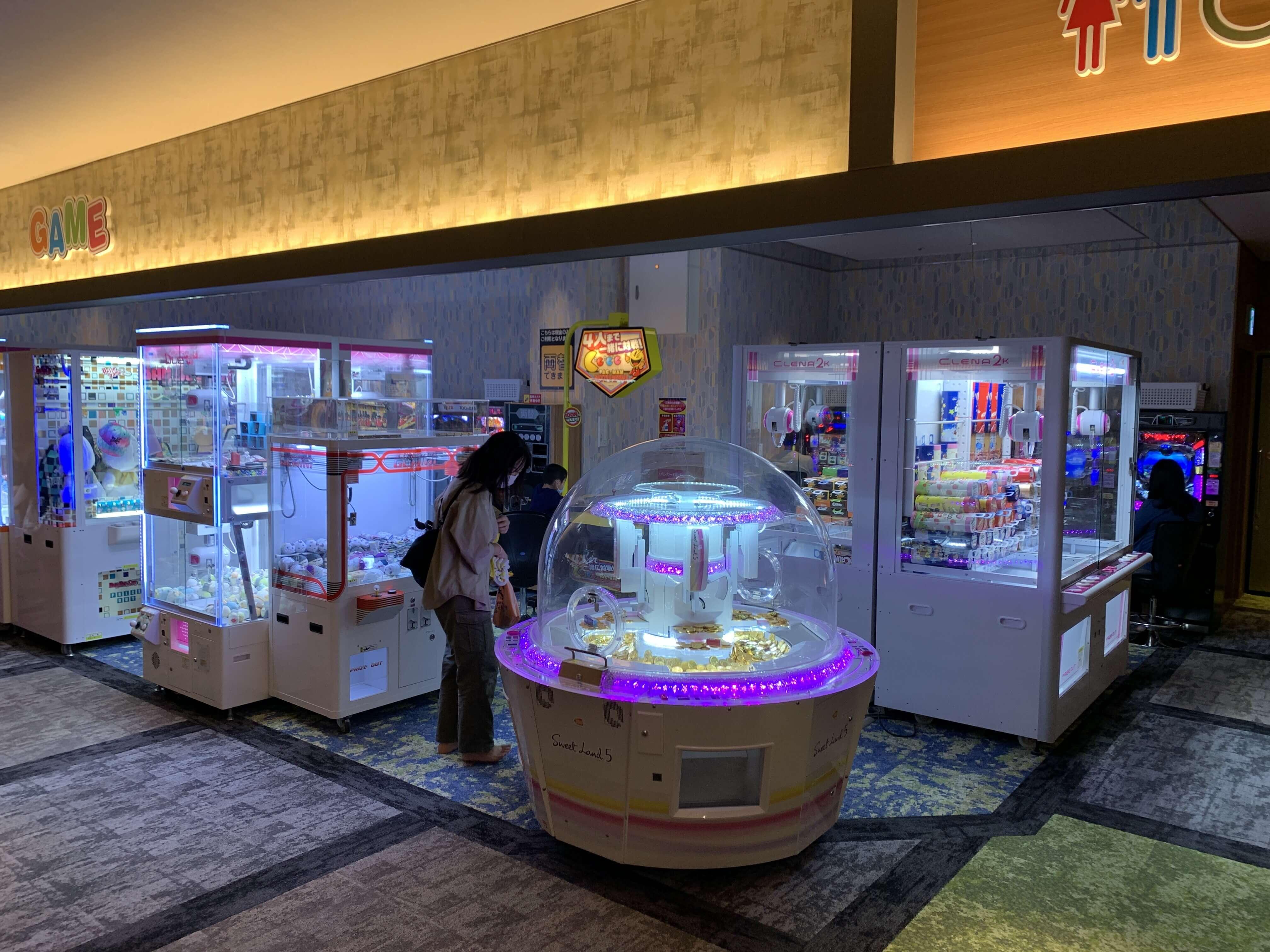 横濱スパヒルズ竜泉寺の湯鶴ヶ峰店_ゲームセンター