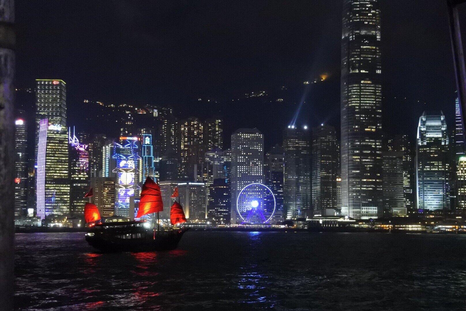 香港・夜景