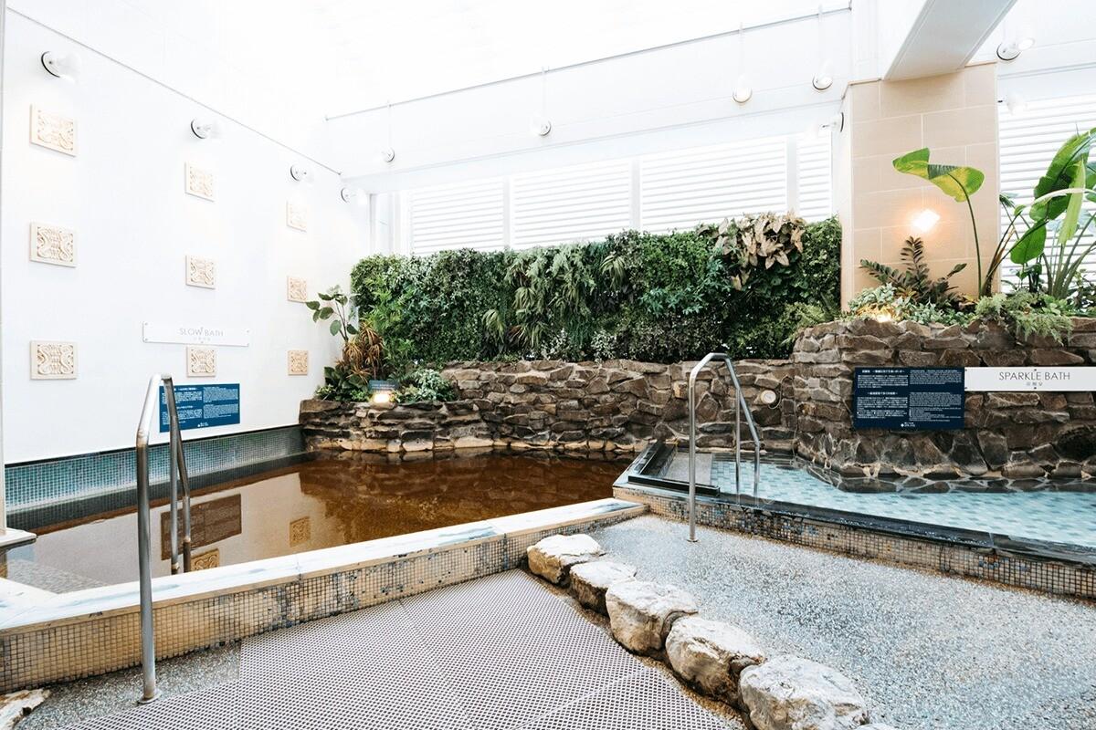 横浜SPAEAS浴室内